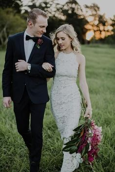 48 Trendy Halter Neckline Wedding Dresses   HappyWedd.com