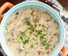 Recept: Champignonsoep