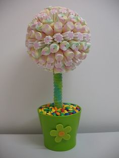 Topiary di caramelle
