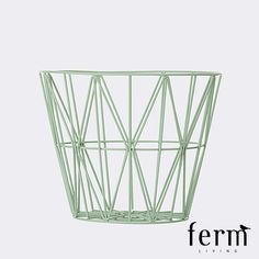 Ferm Living Wire Basket Mint Medium
