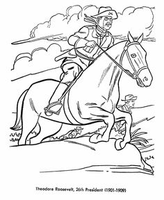 C3W15 TEXAS ROUGH RIDERS coloring pages - Google Search