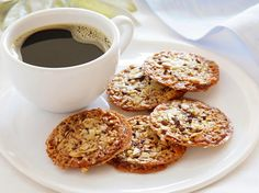 Florentines from Giada: FoodNetwork.com ~ I made these several years ago and they were quite yummy. I'm thinking I need to make them again!