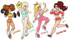 Princesa Daisy, Princesa Peach, Super Mario Princess, Nintendo Princess, Mario Fan Art, Super Mario Art, Super Mario Brothers, Female Character Design, Game Character