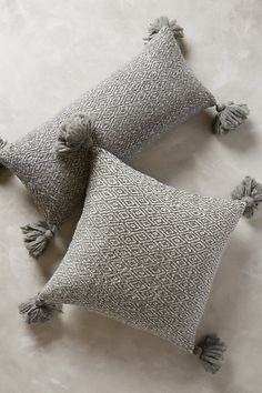 temple bells tassel throw pillow #anthrofave