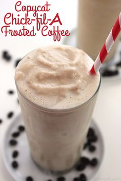 Coffee fans will LOVE this CopyCat Chick-fil-A Frosted Coffee recipe. The perfect refreshment for warm summer months. Simple to make right at home. Copycat Chick-fil-A Frosted Coffee I think I am the biggest coffee drinker thatI know. I have a cup with me almost all day long. Sometimes I try to cut back but it...Read More