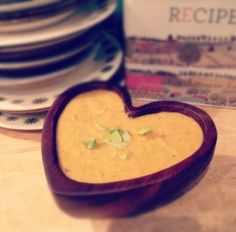 Love Soup, (Roasted Carrot, Ginger And Onion) 20p per portion.