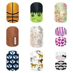 So cute! Jamberry nails!