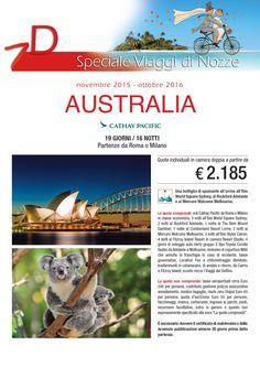Viaggi di nozze - Australia fino ad Oct 2016