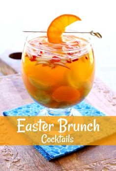 These Easter Brunch Cocktails are going to be a hit! #cocktails #brunch #easter