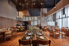 grupo pr transforma edifício comercial em restaurante sofisticado na cidade de Maringá, no Paraná :: aU - Arquitetura e Urbanismo