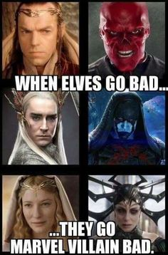 meme about lotr elves' actors playing villains in Marvel movies Memes about the elves of the lotus & # Actors play villains in Marvel films Avengers Humor, Marvel Avengers, Hero Marvel, Funny Marvel Memes, Marvel Jokes, Dc Memes, Marvel Dc Comics, Funny Memes, Funniest Memes