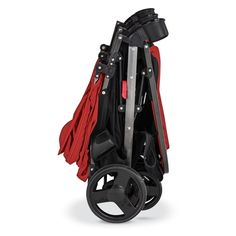 Combi Fold N Go Double Stroller in Salsa