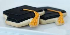 DIY Graduation Hat Cookies