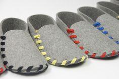Slippers de fieltro