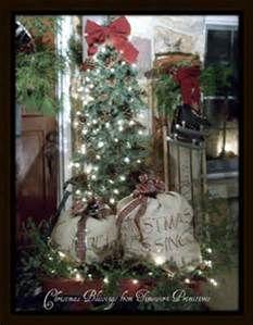 primitive christmas | Outdoor Christmas Decor | Pinterest