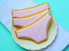 Polka Dot Underwear Cookies