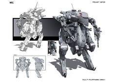 concept robots: Multi-Purpose Mech by KaranaK