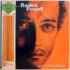 BADEN POWELL / O SOME DE / BOSSA / PHILIPS JAPAN / OBI  #BossaNova