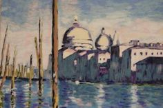 """Venice""  inspired by Claude Monet"