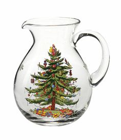 Spode christmas tree pitcher available at dillards com dillards