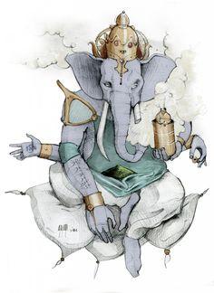 Lord Ganesha - The Benevolent God Gauri Putra, Vighnaharta Vinayaka