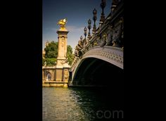 Pont Alexandre III (I walked this every day to/from my home stay to IES for school - 8 mile gorgeous round trip)