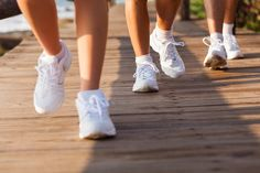Use these four steps for a great walking technique for beginners and beyond. Walk with the proper posture, arm motion, foot motion, and stride. Heart Disease Treatment, National Walking Day, Walking Club, Brisk Walking, Photos Bff, Mens Walking Shoes, Regular Exercise, Aerobics, Walk On