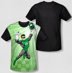 Green Lantern Lamp Energy Ring In Flight All Over Front Sublimation T-shirt Top Mens Sizes: S, M, L, XL, 2XL, 3XL