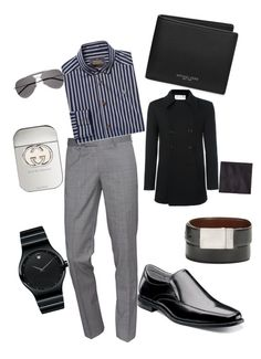 """Untitled #23"" by pentecostal-apostolicfashion2016 on Polyvore featuring The Kooples, Vivienne Westwood, Florsheim, Michael Kors, Yves Saint Laurent, Movado, Gucci, Kenneth Cole Reaction, Armani Collezioni and men's fashion"