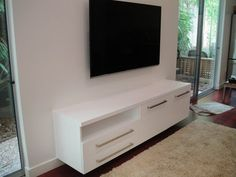 Floating Media Cabinet Plans (19 Pictures)