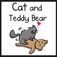 Cat and teddy bear: how more creatures should be made