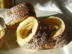 Trdelníky Doughnut, French Toast, Rolls, Baking, Breakfast, Desserts, Food, Buns, Breads