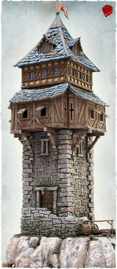 Tabletop World Guard Tower