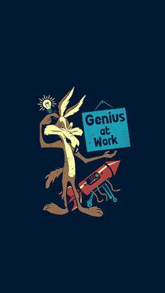 Looney Tunes : Genius At Work Looney Tunes Characters, Classic Cartoon Characters, Looney Tunes Cartoons, Watch Cartoons, Classic Cartoons, Looney Tunes Funny, Work Cartoons, Cartoon Wallpaper, Looney Tunes Wallpaper
