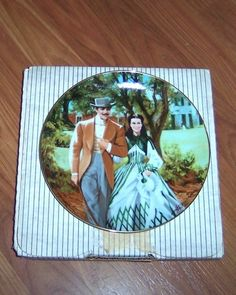 W s George Home to Tara Gone with The Wind Fifth Issue Plate | eBay