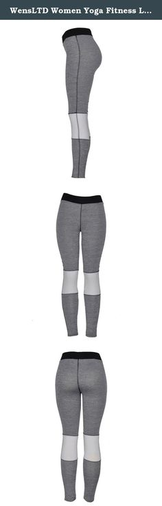 """WensLTD Women Yoga Fitness Leggings Running Gym Stretch Sports Pants Trousers (M). Gender:Women Item Type:Cropped Trousers,Yoga Season:All the year round Fit Type:Straight Waist Type:High Thickness:Standard Pant Style:Pants, Tights, Leggings Front Style:Flat Style:Casual Sport: Yoga/Jogging Material:spandex Weight:165-180G(S~XL) Package include:1*Women shorts(Not including vest) Asian Size:S Waist:62-68cm/24.4-26.8"""" Hips:80-90cm/31.5-35.4"""" Length:94cm/37"""" Asian Size:M..."""