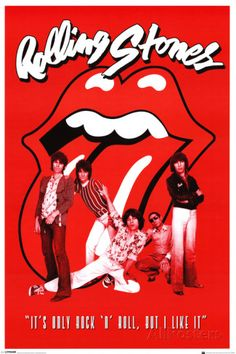 Rolling Stones It's Only Rock n Roll ポスター