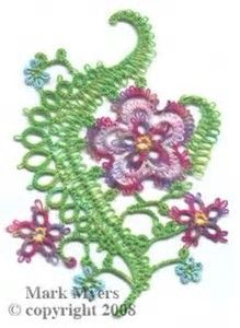 Image result for Simple Needle Tatting Patterns Printable