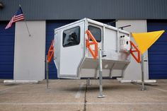 An Exclusive Behind-the-Scenes Look at the FireFly, an Ultra-Compact Camping Trailer Inspired by Space Travel - Core77