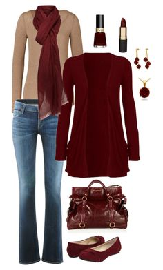 """""""Casual Christmas! :)"""" by masilly1 ❤ liked on Polyvore featuring Splendid, Citizens of Humanity, Miu Miu, Fitzwell, LindseyMarie, Blue Nile, Mimco and Revlon"""