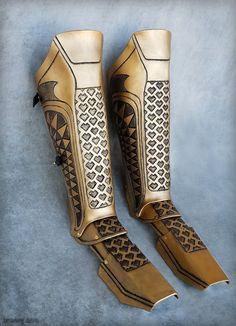Aquaman greaves (leg armor) by rassaku