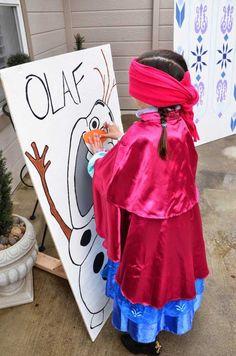 Disney Frozen Birthday Party Activities | Disney's Frozen themed birthday party via Kara's Party Ideas ...