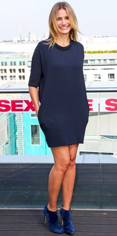 Look of the Day - September 7, 2014 - Cameron Diaz in Stella McCartney from #InStyle