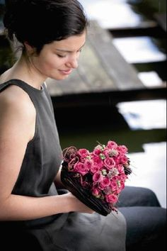 Beautiful floral heart by Moniek Vanden Berghe