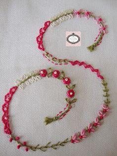 OI Meninas   Bom dia!!     Mais letrinhas bordadas... Mais informações com a  Claudia  d o Blog:http://lavandaelilla.blogspot.com.br/ ...