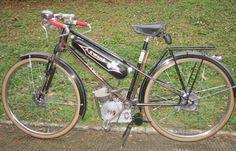 1950 Zwang Ducati Cucciolo.