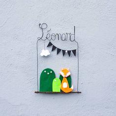 «#joliecommande de #macherie #prénom #léonard #cadeauxdenaissance #personnalisé #deco #renard #chambredenfant #faitmain #fabricationfrançaise»