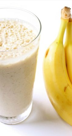 Banana + Peanut Butter Smoothie