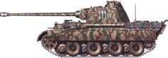 German Panzer Camouflage Patterns | German Camouflage: Panther, Part I