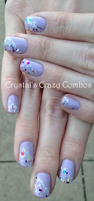 I love Zoya Marley.  I used it with OPI Teenage Dream and it was a perfect pair!  I was looking for something very light and delicate to go with Sweets to the Sweet,
